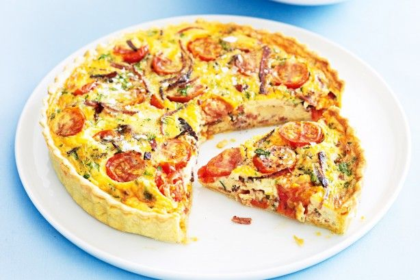 This eggcellent quiche will tart up your meal, plus it's everything it's cracked up to be!
