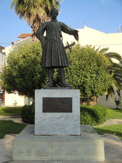 King Otto, Statue in #Nafplio #Old #Town