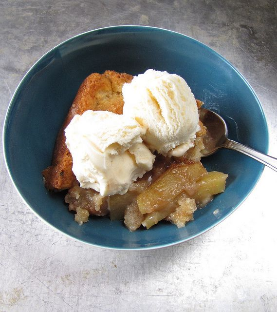 What a great apple cobbler recipe!