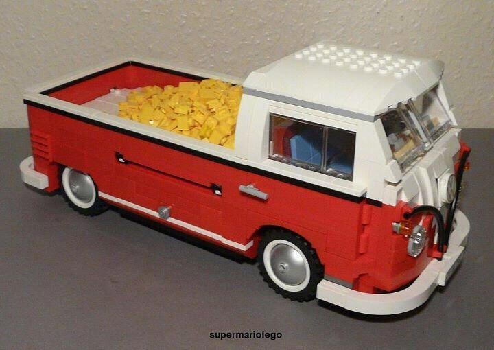 vw kombi lego pick 39 em up pinterest lego. Black Bedroom Furniture Sets. Home Design Ideas