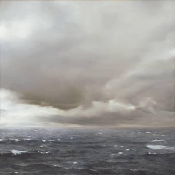 Gerhard Richter: Seestück (bewölkt), 1969