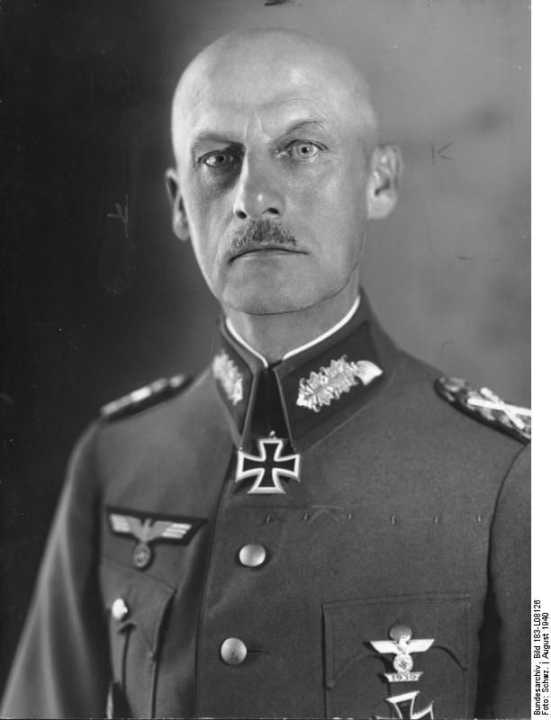 Wilhelm Josef Franz Ritter von Leeb (5 September 1876 – 29 April 1956) was a German field marshal of the Second World War, during which his younger brother, Emil Leeb, rose to the rank of General der Artillerie. In 1940, after the Fall of France, Leeb was promoted to field marshal during the 1940 Field Marshal Ceremony
