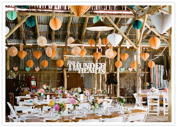 Colorful Australian wedding with a ton of #diy