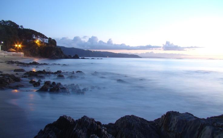 """Tomé, playa """"El Morro""""."""