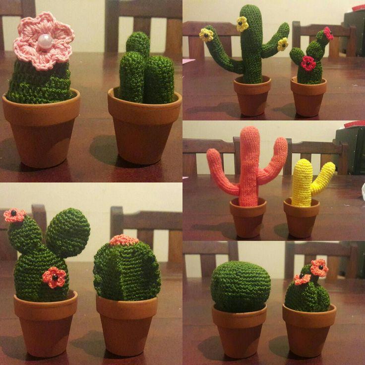Cactus a crochet.. Caburé 😳😳