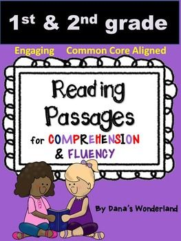 This product contains 20 reading passages that target fluency and comprehension.Bonus: the same 20 passages in a different version  so you can pick the version you like better.The students will have to:*read the passage 3 times and color a star after each reading (for fluency)*read the questions and color/ highlight the sentences that contain the answer*write the answer (constructed response) -only on the bonus version (for higher students)*draw a picture that matches the textThe texts have…