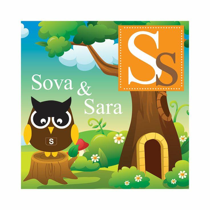 #DJ03, S stands for Sova, 50 x 50 cm