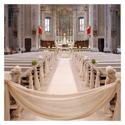 paramenti bianchi per chiesa - fotografie di matrimonio www.maisonstudio.it ©