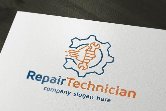 Repair Technician by dm243 on @creativemarket