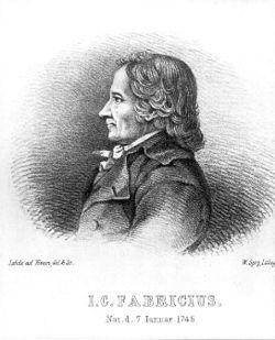 Johan Christian Fabricius (7. januar 1745 - 3. marts 1808) var en dansk zoolog og økonomisk forfatter.