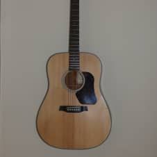 Walden D550 Natural Acoustic Guitar Repaired Great for Practice