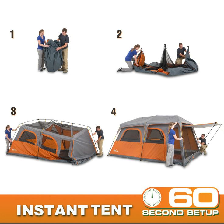 Campvalley 9 Person Instant Cabin Tent Sam S Club 159