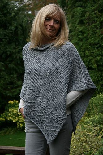 Knitting Pattern For Womens Poncho : 25+ best ideas about Ponchos on Pinterest Capes ...