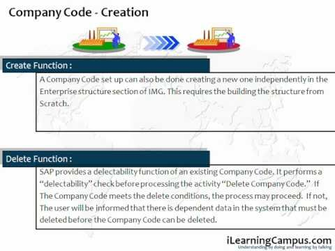Chapter 3 - SAP ERP FICO - Company Code