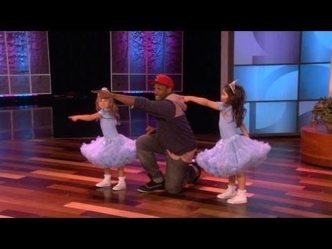 Sophia Grace & Rosie Dance with tWitch!