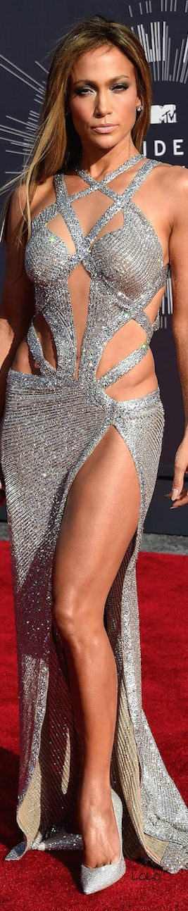 Sparkle brighter darling! Jennifer Lopez in a Charbel Zoe Dress 2014 love this on her looked fab....
