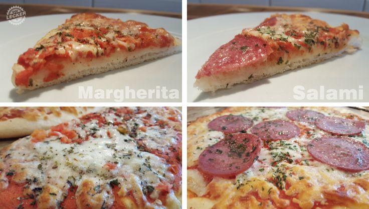 Pizza margherita lecker