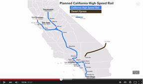 Title: California High Speed Rail Map - Description: California High Speed Rail Map