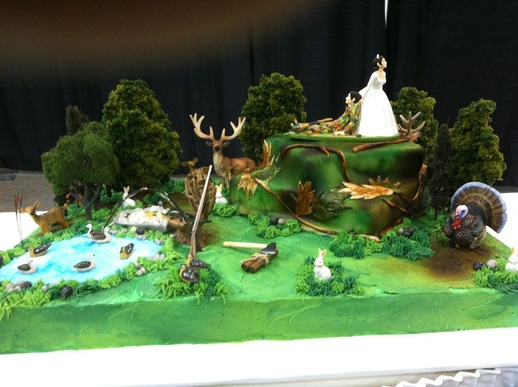 The favorite by far for the grooms cake  Deer Hunting Groom's Cakes   Hunting Grooms Cake   Someday
