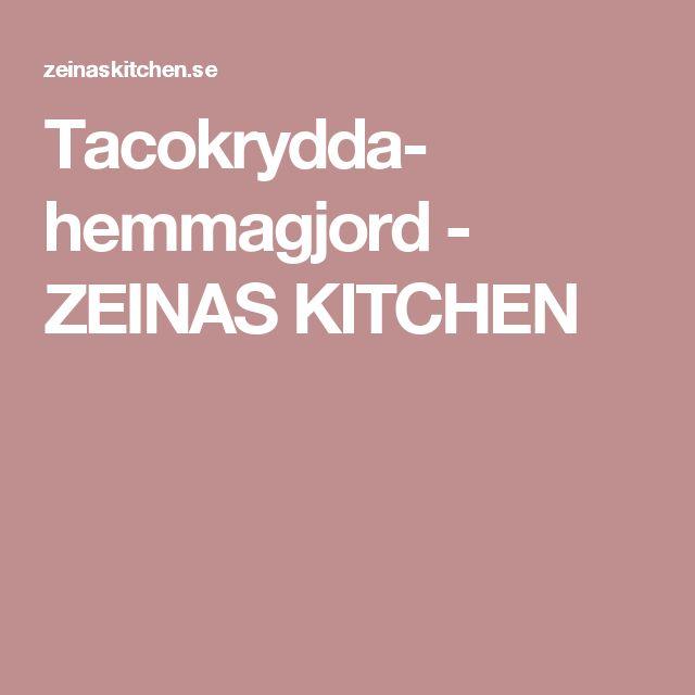 Tacokrydda- hemmagjord - ZEINAS KITCHEN