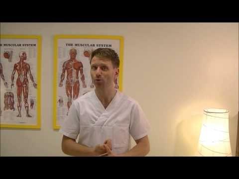 Behandla ryggont med hjälp av tennisboll. Triggerpunkter