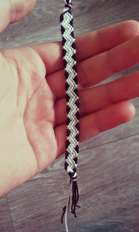 Nouveau bracelet brésilien by me. Le tuto sur mon blog.