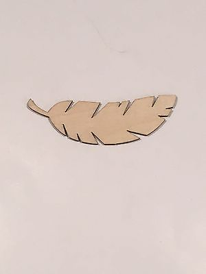 Crafting-Supplies-Bird-Feather-Cutout-Laser-Cut-Wood-Craft-A120-Feather