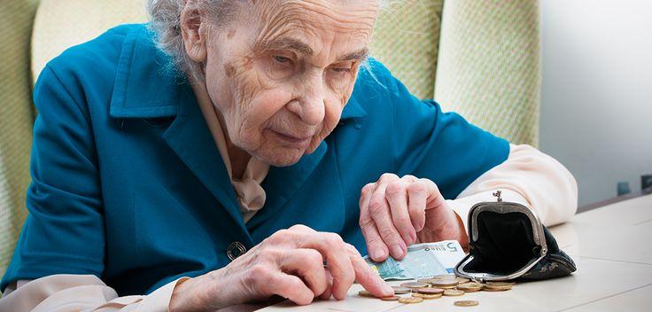 Fattigpensionärer – en fläck på Sveriges banér