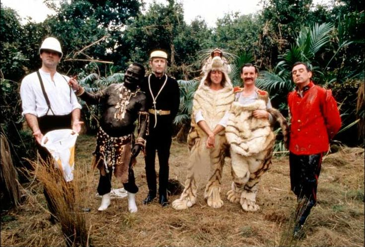 John Cleese, Terry Gilliam, Graham Chapman, Eric Idle, Michael Palin and Terry Jones | Rare and beautiful celebrity photos