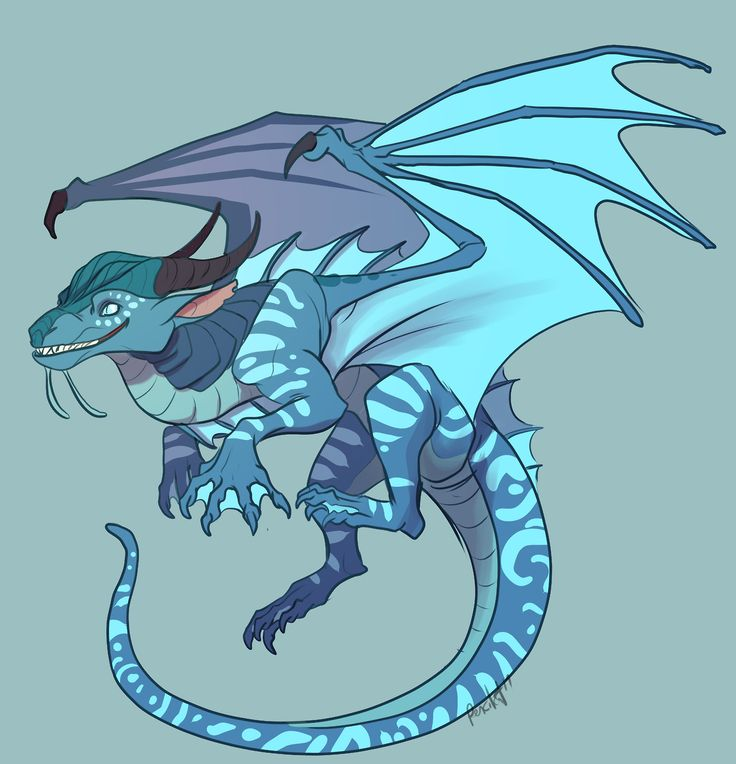 another warmup doodle with Wings of Fire characters. Tsunami this time! I like how whenever they are faced with a problem her solution is to pick a fight with it.