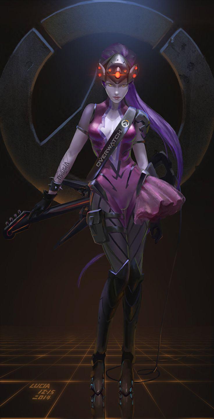 Widowmaker Overwatch Wallpaper 59268 Usbdata