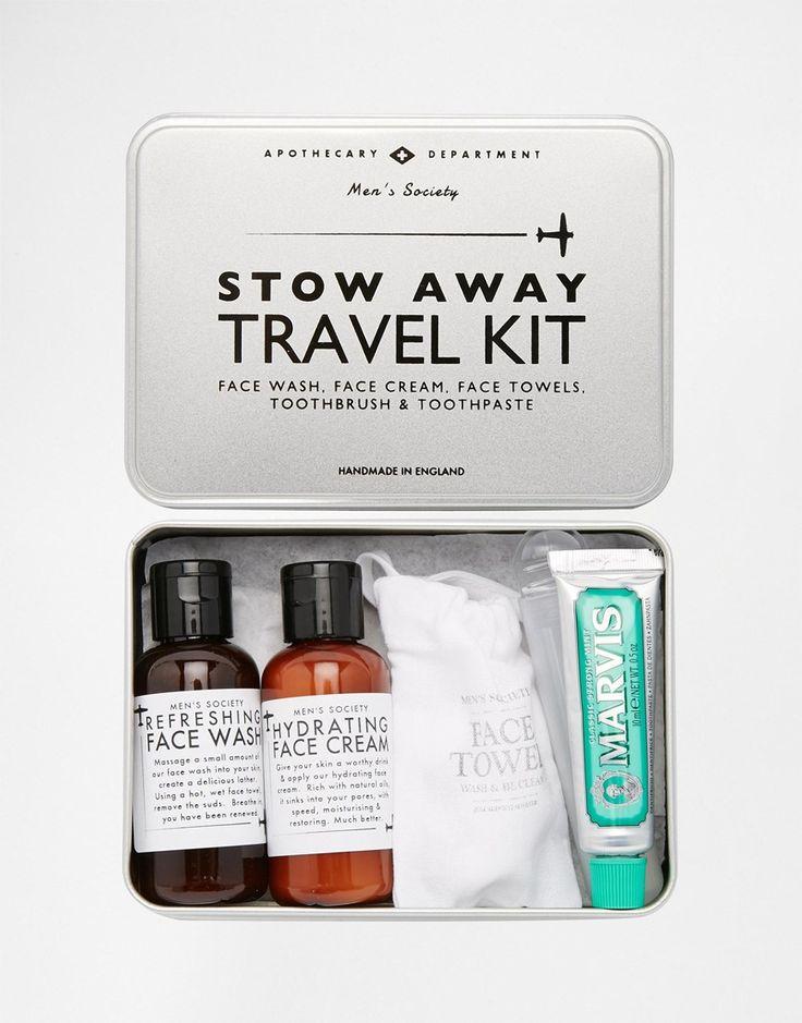 Men's Travel Grooming Kit http://bit.ly/1XvFDrf