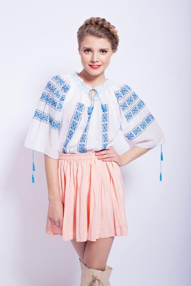 IA, un must have<3 #romanianblouse #peasantblouse #embroideredblouse