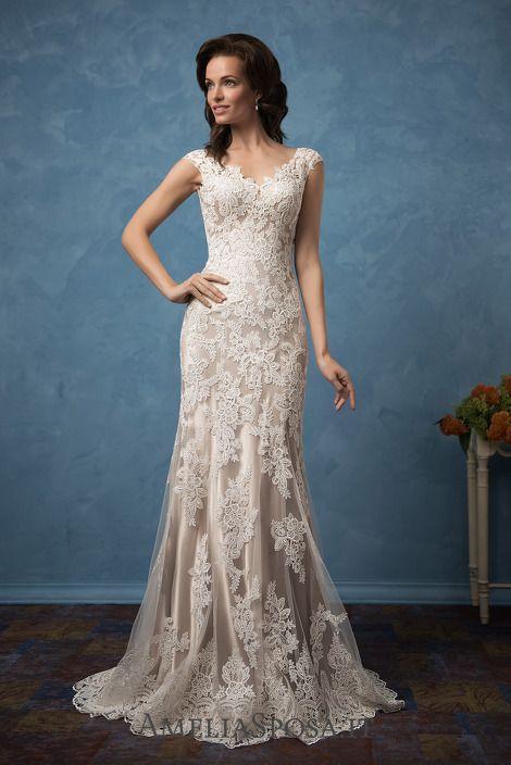 Fantastic Elegant Wedding Dresses For Older Brides Festooning ...