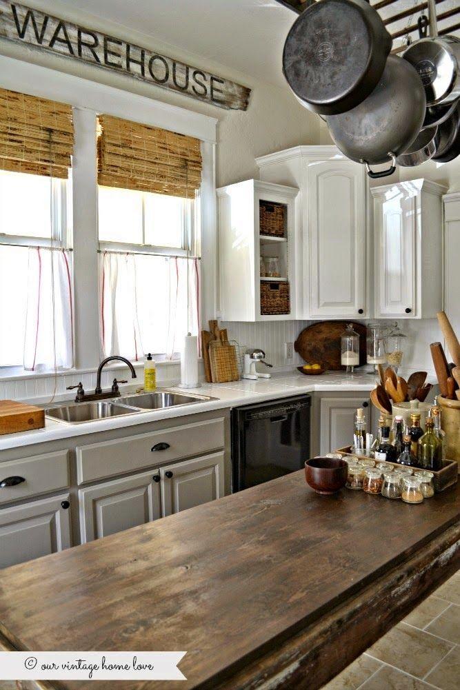 Best A Beleza Na Simplicidade Armário De Cozinha Reformado 640 x 480