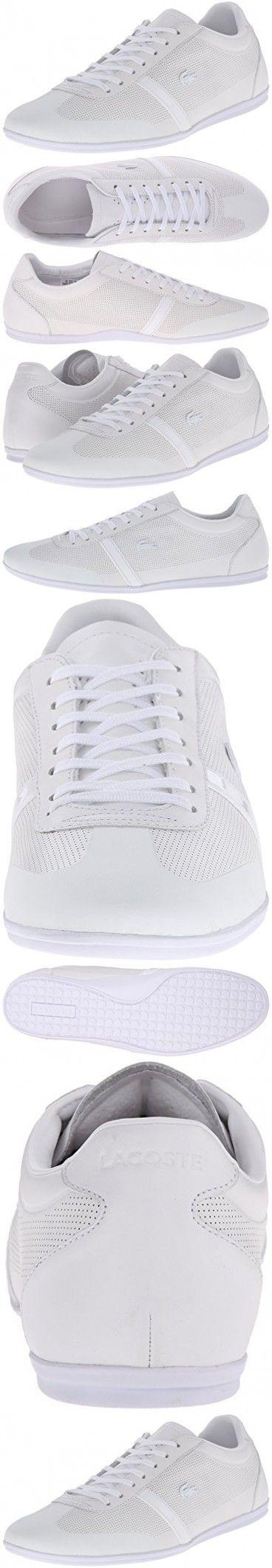 Lacoste Men's Mokara 116 1 Cam Fashion Sneaker Fashion Sneaker, White, 9 M US