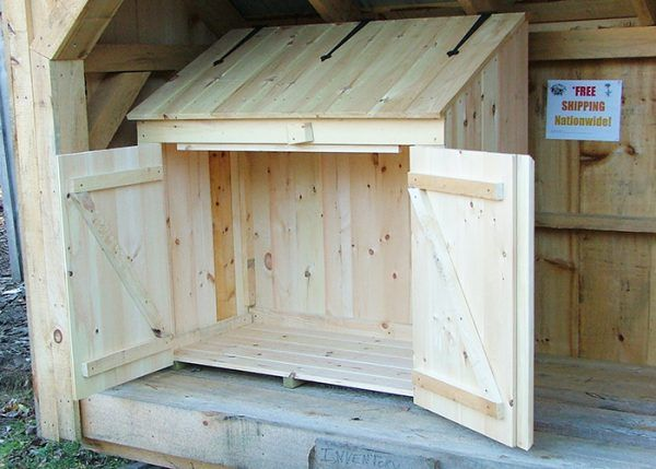 Rta 2x4 Garbage Bin Garbage Can Storage Shed Plans Building A Shed