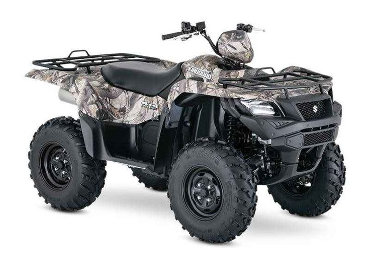 New 2016 Suzuki KingQuad 750AXi Power Steering Camo ATVs For Sale in Illinois. Three decades of ATV manufacturing experience has led to the KingQuad 750 AXi Power Steering Camo, Suzuki's most powerful and technologically advanced ATV. Abundant torque developed by the 722 cc fuel-injected engine gives the KingQuad the get up and go that's a must-have for Utility Sport ATVs. The advanced Power Steering feature provides responsive handling, and the easiest maneuverability available. With an…