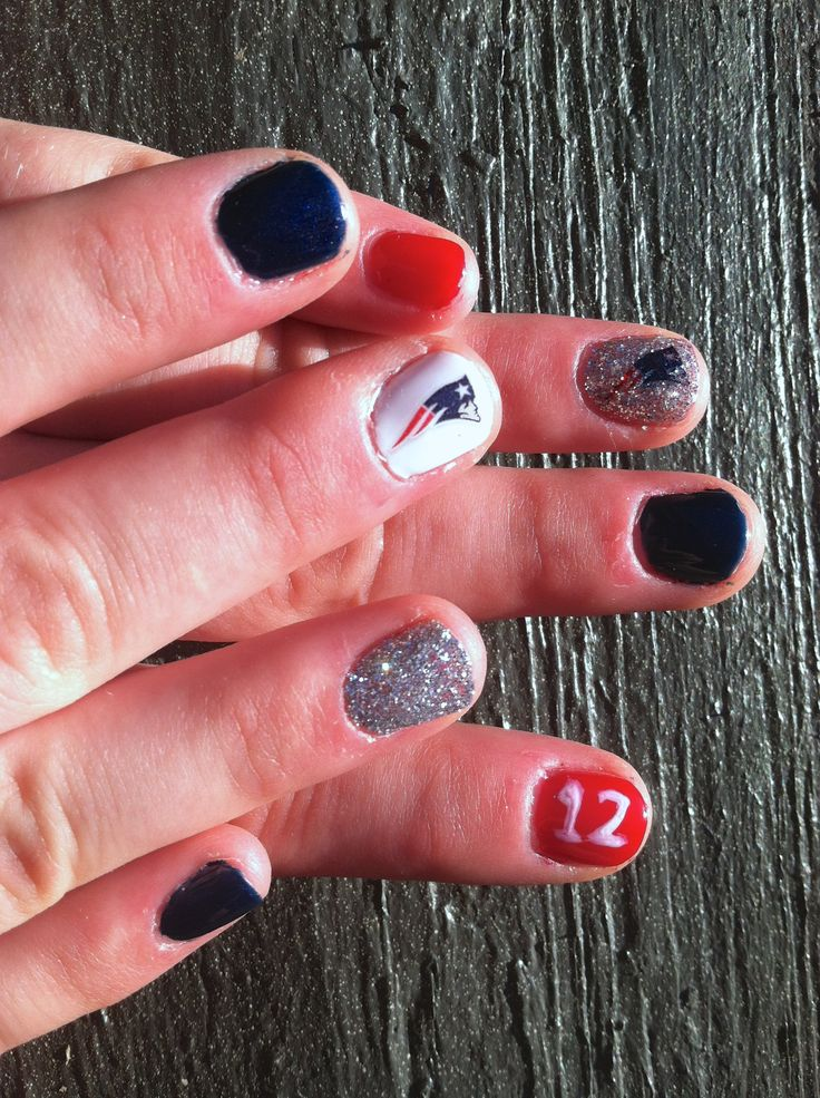 15 best football nails images on Pinterest | Football nails, Soccer ...