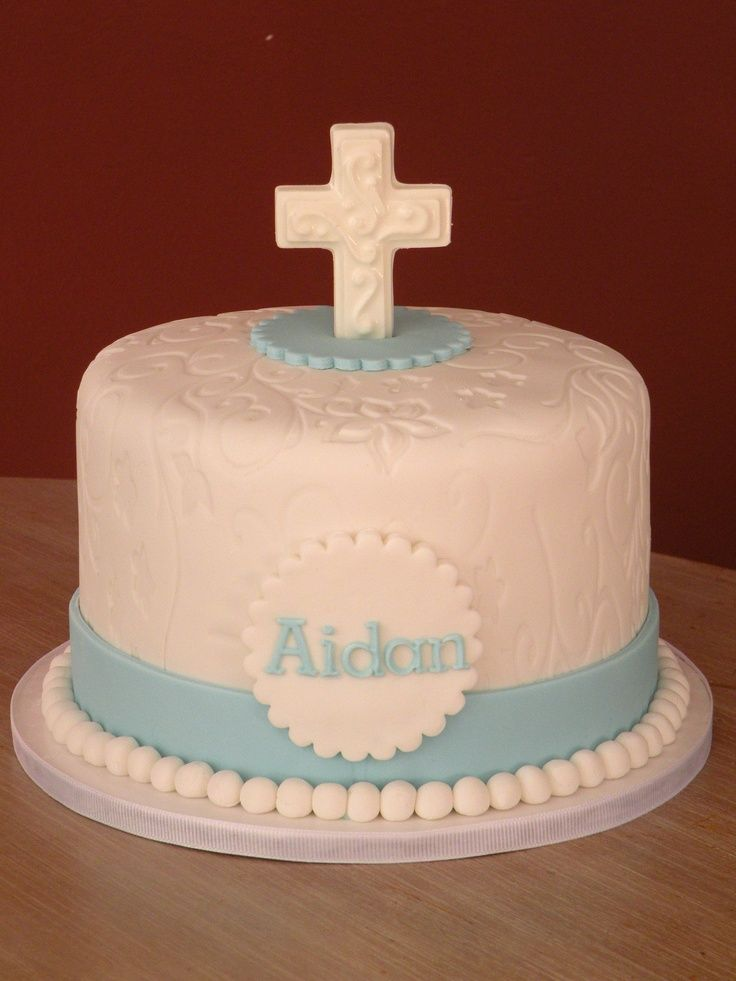 Simple lovely first holy communion cake first communion for 1st holy communion cake decoration ideas