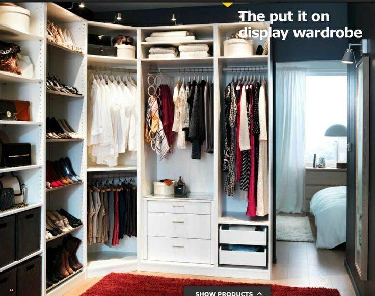 Bedroom : Trendy Ikea Corner Wardrobe Closets Ikea Pax Closet ...