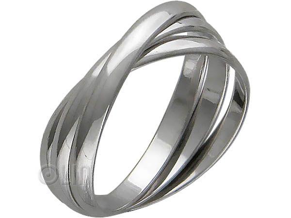 Обручалка из серебра - Фото 1