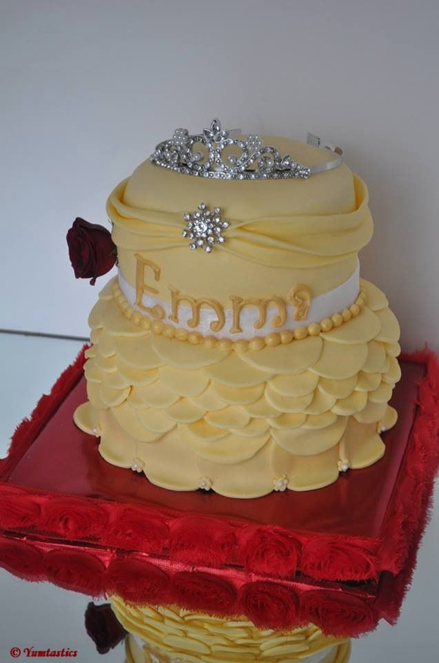 1000+ ideas about Belle Cake on Pinterest Cakes, Doll ...