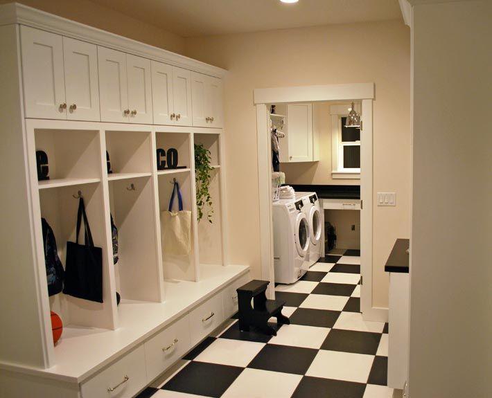 105 best wilmington style images on pinterest basement for Basement mudroom ideas
