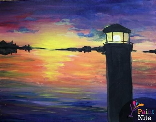 Paint Nite Baltimore | Grottos Pizza Tuesday, March 3rd