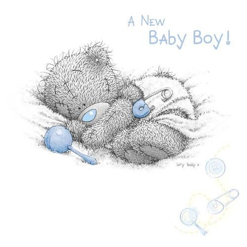 New Baby Boy Me to You Bear
