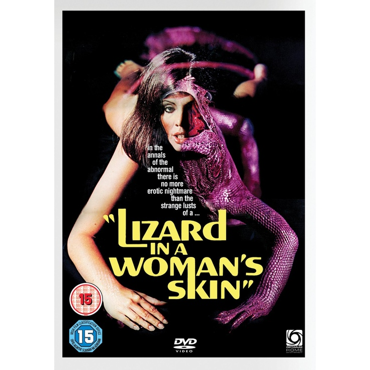 Lizard in a woman's skin • Lucio FulciWoman Skin, Art Film, Giallo Film, Canal Dvd, Favorite Horror, Horror Film, Lizards
