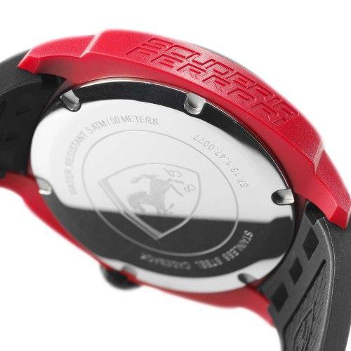 Scuderia Ferrari Aerodinamico Chronograph Watch Red NEW #ferrari #ferraristore  #scuderiaferrari #watch #collection #new #aerodinamico #cronograph #exclusive #prancinghorse #cavallinorampante #passion #carbon #digital #display #alarm #data #timezone #waterproof #red #rossoferrari