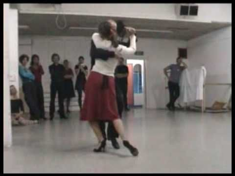 Gavito + Maria Tango Workshop 2004 in Amsterdam
