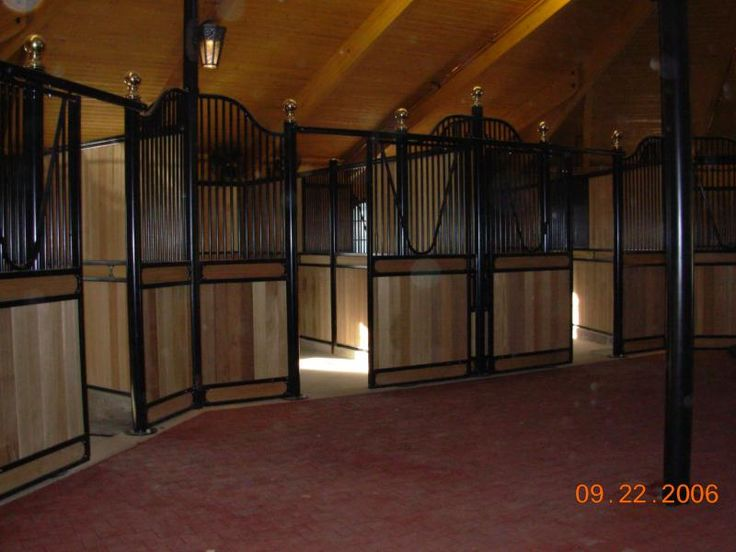 Aasved Construction   Equine Stables And Exercise Ring